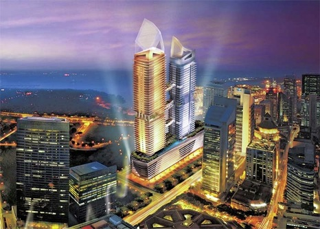 One Shenton The Penthouse Collection Singapore The View From The
